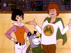 Wendy, Marvin and WonderDog from SuperFriends