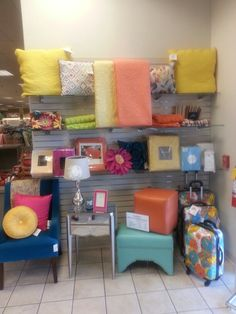 Colorful Home Decor At Stein Mart