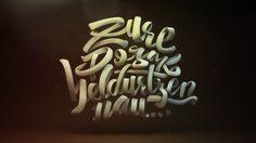 3D typo Zure pozak beldurtzen nau...