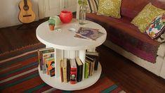 Maderas Recicladas, muebles reutilizando palés y elementos de obra