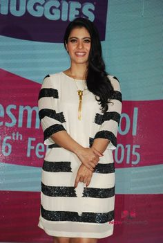 Kajol At Huggies Event