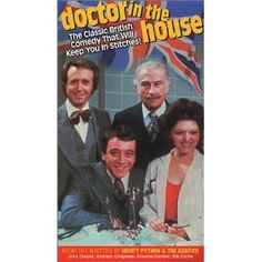 """""""Doctor in the House"""" follows the misadventures of medical students Michael Upton, Duncan Waring, Paul Collier and Dick Stuart-Clark."""