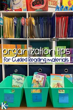 3 tips to help you organize your guided reading books for easy planning of small group instruction. Keep your leveled library right at your fingertips! Guided Reading Organization, Book Organization, Classroom Organization, Classroom Management, Behavior Management, Classroom Decor, Guided Reading Lessons, Guided Reading Groups, Reading Centers