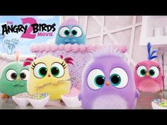 THE ANGRY BIRDS MOVIE 2 - Happy Mother's Day from the Hatchlings! - This the hatchlings have a special song to share showing all moms how much we care… 🎶💖 Bill Hader, All Angry Birds, Dragon Ball, Pig Island, Danny Mcbride, Sony Pictures Entertainment, Let It Die, Flightless Bird, Batman