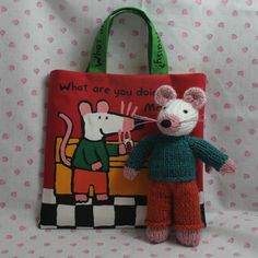 Mouse with Maisy Mouse Tote £25.00