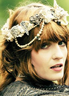 No one else has impressed me so much; the fashions, the music, and more than anything the lyrics... Number one cure for writers block Florence and the Machine <3