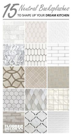 Floor and Decor Kitchen Backsplash. 20 Floor and Decor Kitchen Backsplash. A Backsplash for Any Bud Kitchen Redo, Home Decor Kitchen, Home Kitchens, Kitchen Remodel, Kitchen Backsplash White Cabinets, Tiles For Kitchen, Granite Kitchen, Kitchen Ideas, Kitchen And Bath Remodeling