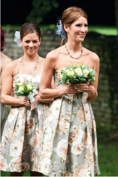 Vintage+Bridesmaid+Dresses | ... Bridesmaids Dresses – Why Not? | Budget Brides Guide : A Wedding