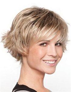 Risultato immagine per Short Shag Hairstyles for Women Over 50