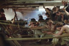 Master and Commander: The Far Side of the World - On the gun deck, cannons ready to fire