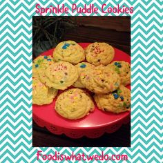 Food from around the world to your table! Pudding Cookies, Sprinkles, Desserts, Blog, Recipes, Deserts, Food Recipes, Blogging, Rezepte