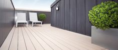 How stunning is this housing development deck?! 😍👌TimberTech supply gorgeous decking solutions for a range of commercial premises as well as homes! #decking #timbertech #commercial #business #floor