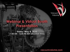 Join us tomorrow, Friday, May 2020 from AM to PM MDT for our Virtual Booth Presentation Webinar! Advertising Services, Marketing And Advertising, Particle Accelerator, Vacuum Pump, Materials Science, Nanotechnology, Email Marketing, How To Stay Healthy, Physics