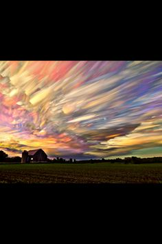 "Time-lapse photography of a colorful sky. ""Be humble, for you are made of earth. Be noble, for you are made of stars."" - Slavic saying"