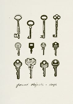 Keys (Found Objects) via The Cools