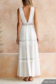 50b8ff14762 35 Best White boho dress images in 2019