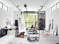 Art In Homes Tuesday ~ <BR/> Artist Studio