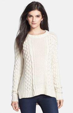 Theory 'Innis' Wool Sweater 25L ivory wool szS 156.97
