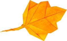Image result for fall leaf origami