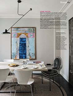 The most beautiful/chic/amazing dining room ever