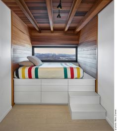 the Laurentian Ski Chalet designed by RobitailleCurtis
