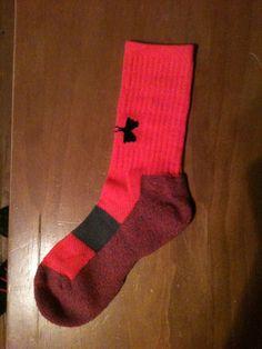 New under armour socks for school tomorrow!