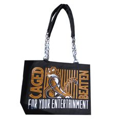 Bag - Graphic Caged & Beaten Purse