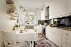 My white kitchen fantacy Kitchen Board, Kitchen Dining, Kitchen Decor, Apartment Interior Design, Interior Design Kitchen, Interior Decorating, Appartement Design, Scandinavian Kitchen, Scandinavian Style
