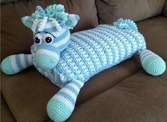 Ravelry: Zoe the Unicorn, Zebra, or Horse Blanket Buddy pattern by Mary Smith