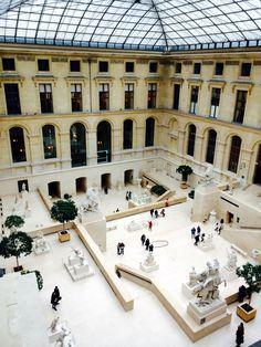 The Louvre. Paris. January 2015.