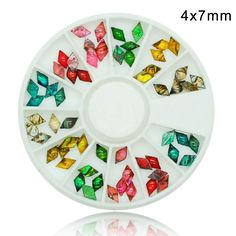 3d Nail Art Accessory Natural Rhombus DIY Decor -- To view further for this item, visit the image link.