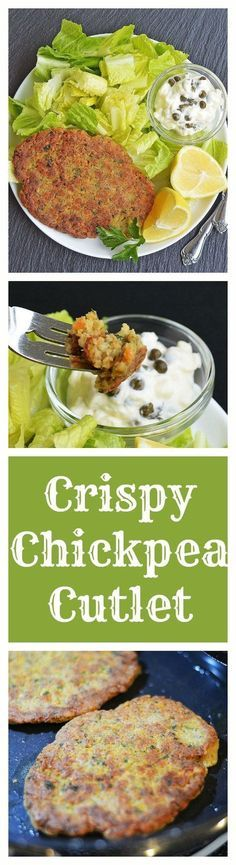Crispy Chickpea Cutlet