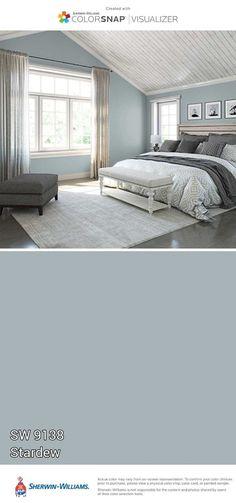 Blue Paint Colors for Bedroom . Blue Paint Colors for Bedroom . 30 Marvelous Of Furniture Bedroom Ideas Blue Paint Colors, Paint Colors For Home, House Colors, Gray Paint, Bedroom Wall Colors, Bedroom Decor, Master Bedroom, Master Bath, Night Bedroom