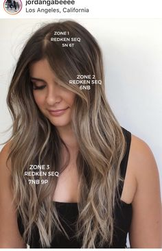 Hair Color Streaks, Hair Color Dark, Hair Color Balayage, Ash Brown Hair With Highlights, Redken Hair Color, Hawaii Hair, Redken Hair Products, Perfect Hair Color, Hair Color Formulas