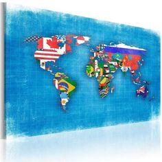 Quadro - Bandiere del mondo