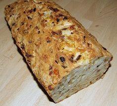 Zwiebel - Käse - Schinken Brot 3