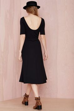 Nasty Gal Gimme the Scoop Knit Dress   Shop Dresses at Nasty Gal
