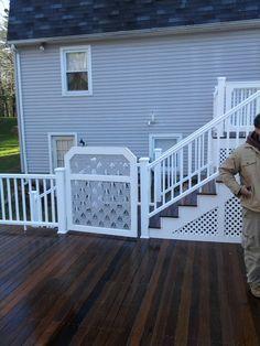 Gate Sweet Home, Deck, Gates, Outdoor Decor, Outdoors, Home Decor, Decoration Home, House Beautiful, Room Decor