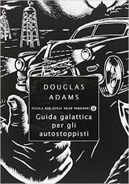 Risultati immagini per guida galattica per autostoppisti book