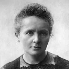 Marie Curie--Marie Skłodowska Curie, Polish by birth and French by marriage, accomplished so much in her 66 years of life. An inspiration to us!