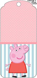 These Cool Items Are perfect gift. What a neat idea! Pig Birthday, Third Birthday, 3rd Birthday Parties, Birthday Ideas, Pig Party, Baby Party, Peppa Pig Printables, Free Printables, Printable Labels