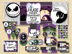 ON SALE Limited Time Nightmare Before Christmas BIRTHDAY by MadPhotoge just $15.00