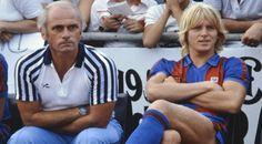 Udo Lattek y Bernd Schuster