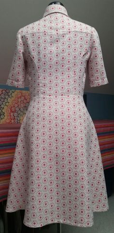 Chaotically Precise: Life, Love, and Melanoma: Sew Chaotically! - Full skirted shirt dress - Simplicity 8014