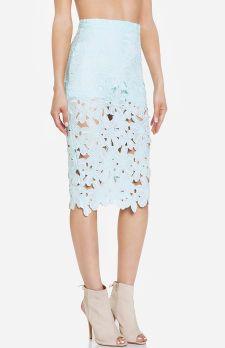 DailyLook: Venise Lace Pencil Skirt