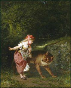 Rotkäpchen, Grimm`s Märchen