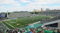 Roughriders lead league in 2013 attendance Go Rider, Saskatchewan Roughriders, Rough Riders, Attendance, Baseball Field, Green Colors, Letting Go, Pride, Feels
