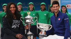 Australian Open 2016: Novak Djokovic, Roger Federer and Serena... #RogerFederer: Australian Open 2016: Novak Djokovic, Roger… #RogerFederer