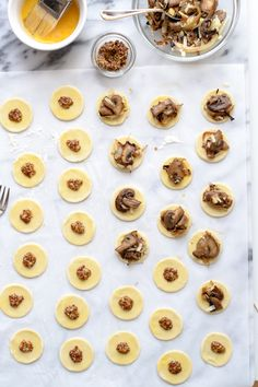 Puff Pastry Bites with Mushrooms