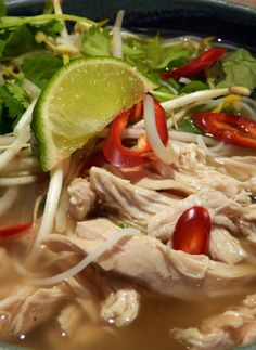 Gluten Free and Low FODMAP Recipe - Chicken pho